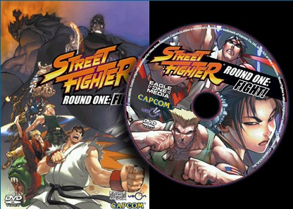 Eagle One Media Street Fighter Animated Motion Comics