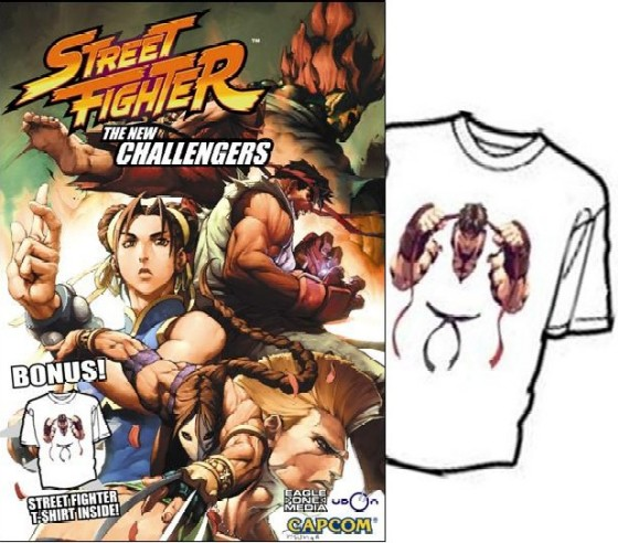 Street Fighter: The New Challengers DVD + RYU T-shirt