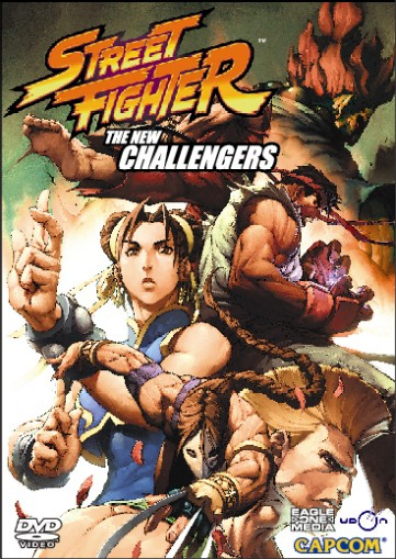 Street Fighter: The New Challengers DVD